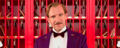 Ralph Fiennes in The Grand Budapest Hotel